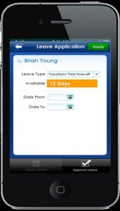 Going Minimalistic with Mobile Leave
