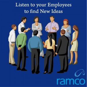 Listen to your Employees to find New Ideas