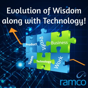Evolution of  Wisdom along with technology