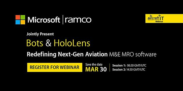 Webinar on Bots & Hololens in Aviation MRO. Register now..jpg