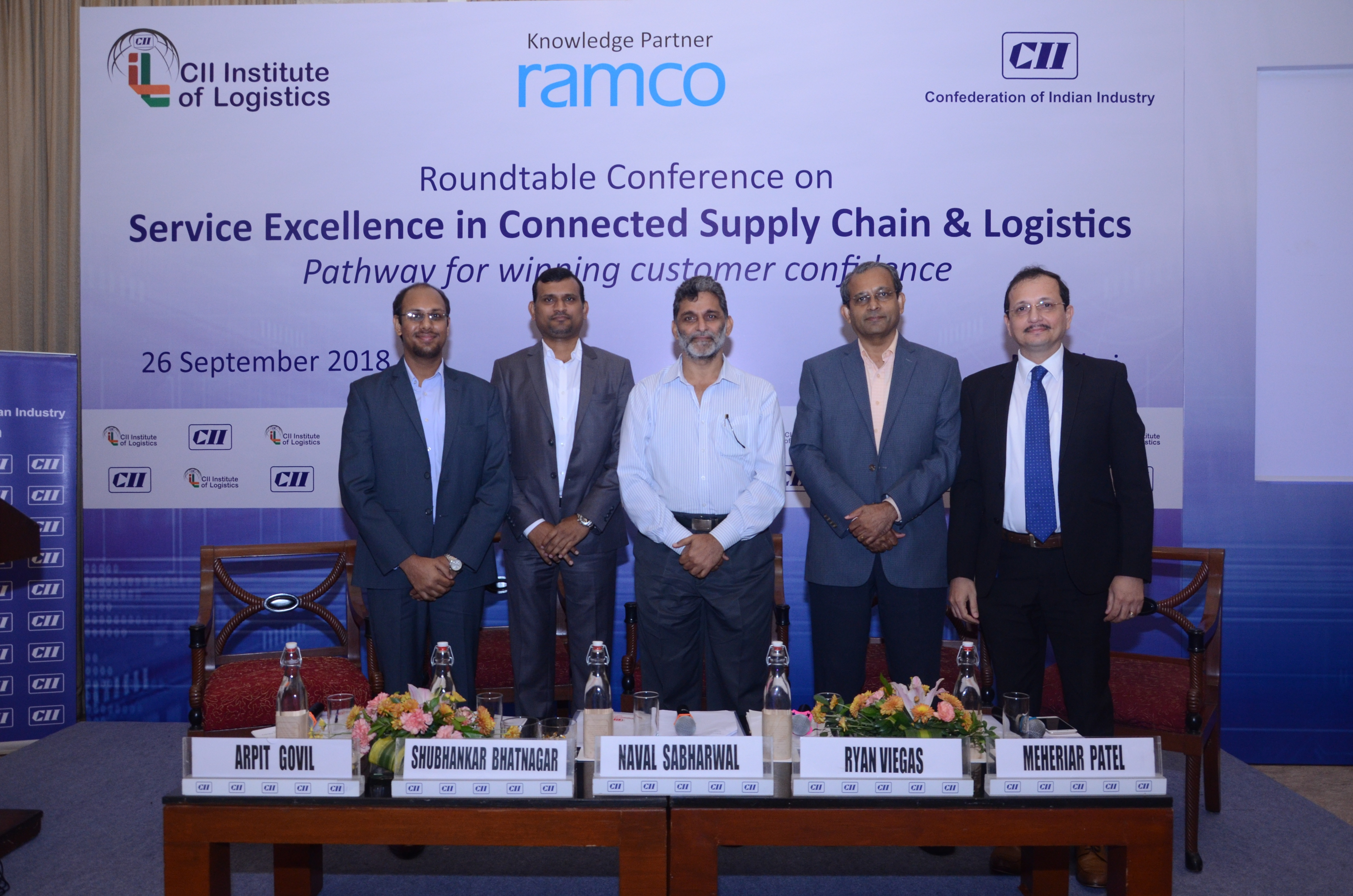 Event Roundup: CII – Institute of Logistics' Roundtable