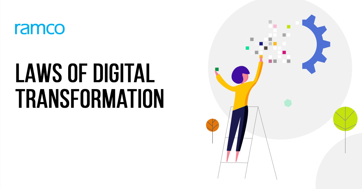 Here are 8 laws of Digital Transformation that will help corporations embark on digital transformation journey, which will be useful in a post-COVID world.